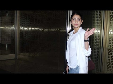 Spotted: Look Who Came To Drop Anushka Sharma At A