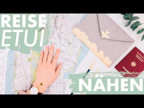Reise Organizer nähen | + kostenloses Schnittmuster | DIY