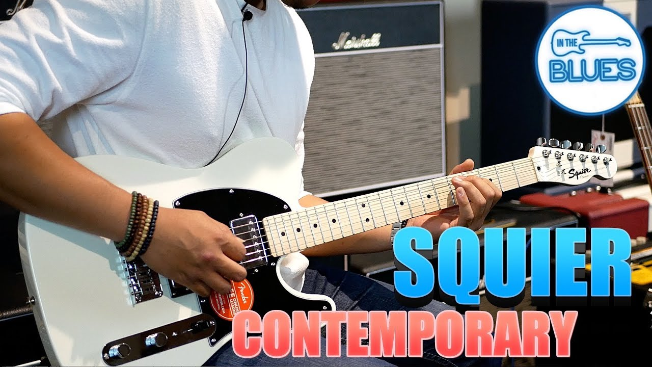 Squier Contemporary Series Tele Electric Guitar Featuring Ryan