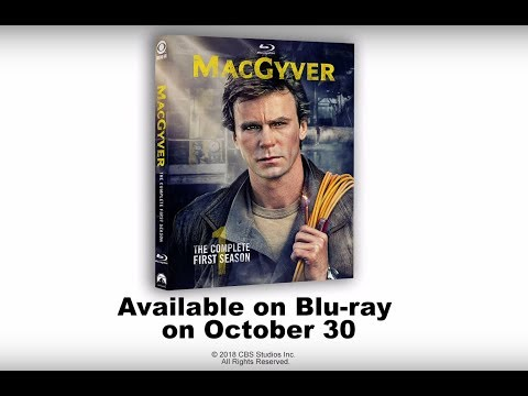 """MacGyver: The Complete First Season"" On Blu-ray October 30, 2018"