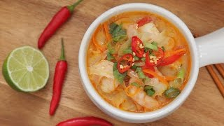 Thai Shrimp Soup Recipe by The Domestic Geek