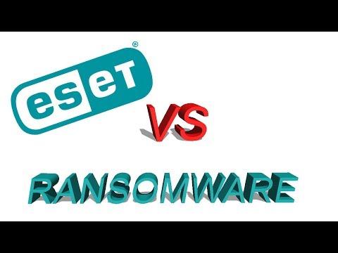 ESET Vs Ransomware