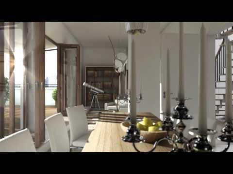 interior 3d animation - Cinema 4D HD 3D Architektur Animation Frankfurt am Main Europaviertel Architektur Architecture animation film animation movie maxon Cinema 4d C4D Jean-marc c...