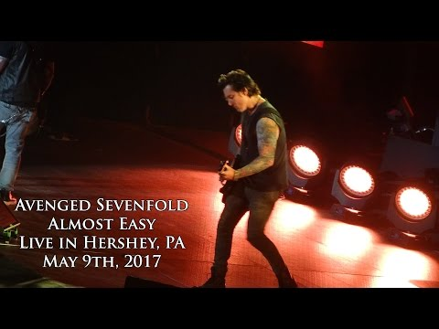 Avenged Sevenfold - Almost Easy (Live In Hershey 5/9/17)