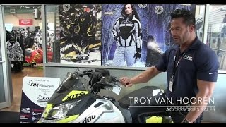 8. Tour of the new 2016 Ski-Doo MXZ XRS 800R