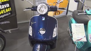 4. Piaggio Vespa GTS 250 i.e. Exterior and Interior