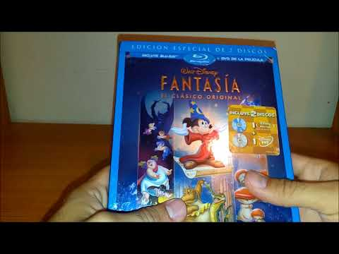 Unboxing: Fantasia Bluray