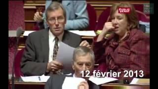 Video Le meilleur des envolées lyriques de Christiane Taubira  au parlement MP3, 3GP, MP4, WEBM, AVI, FLV Mei 2017