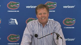 Jim McElwain meets with the media to discuss the final week of spring practice.