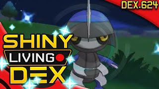 SHINY PAWNIARD!! Live Reaction! Quest For Shiny Living Dex #624 | Pokemon XY by aDrive
