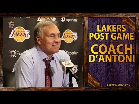 Video: Lakers Vs. Thunder: Mike D'Antoni On Jodie Meeks' 42 Point Performance, Kent Bazemore