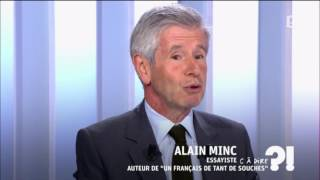 Video Alain Minc invité de C à dire?! (29 août 2016) MP3, 3GP, MP4, WEBM, AVI, FLV November 2017