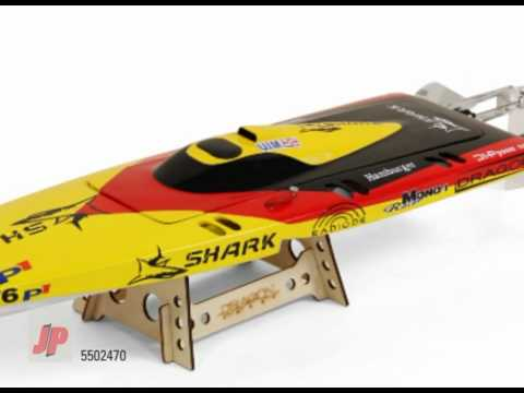 DRAGON SHARK 650EP COMPETITION R/C READY