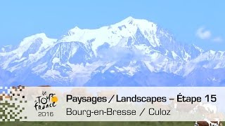 Bourg-en-Bresse France  City pictures : Paysages du jour - Étape 15 (Bourg-en-Bresse / Culoz) - Tour de France 2016