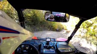 8. Can Am Maverick Sport 1000 DPS and Polaris RZR 900S on a NH Foliage Trip