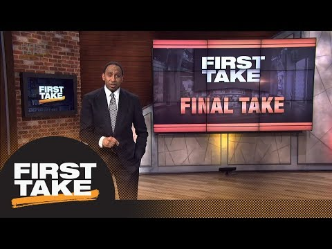 Stephen A. Smith delivers scathing Final Take on Odell Beckham Jr. accusations | First Take | ESPN (видео)