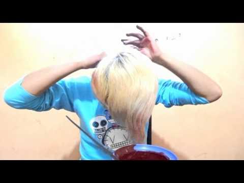 como pintar cabellos con anilina tutorial – iszzra scene