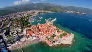 Budva Montenegro  city photos : Montenegro Budva and Sveti Nikola Air video from a Drone FPV