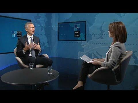 Ο Γενς Στόλτενεμπεργκ στο Euronews