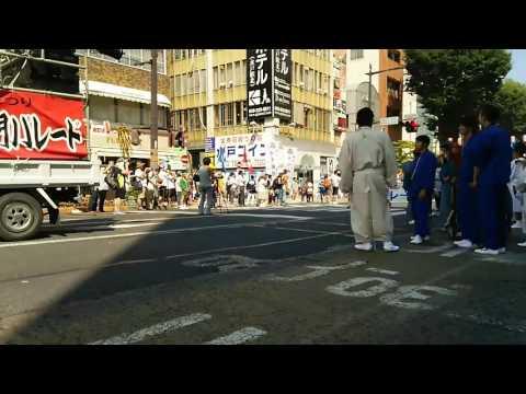 水戸黄門まつり音楽隊パレード 石川小学校
