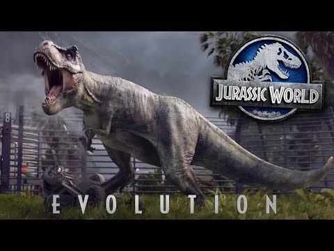 JURASSIC WORLD EVOLUTION! - TRAILER | REVIEW/THOUGHTS (видео)