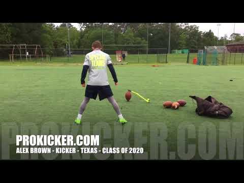 Alex Brown - Prokicker.com Kicker, Texas, Class of 2020