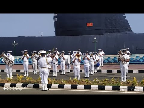 Indian Navy to Salute Corona Warriors Rehearsal at Beach Road in Visakhapatnam,Vizagvision...