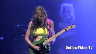 The Iron Maidens - Guitarist Courtney Cox Solo - House Of Blues - OutlawVideo.TV