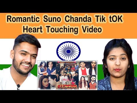 Indian Reaction on Romantic Suno Chanda Best Tik Tok | Swaggy d