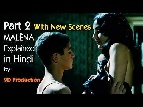 Malèna (2000)   Italian Movie Explained In Hindi   Part 2   Monica Bellucci   9D Production