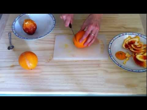 cucina sana - torta al cioccolato e arance