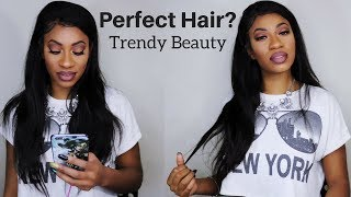 Trendy Beauty Hair Straight Frontal & Bundles