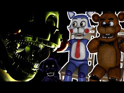 FREDDY AND CANDY REACT TO: Five Nights at Candy's 4 Announcement Post, Teaser and Puzzle Video!!!