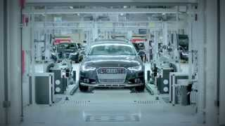 Neckarsulm Germany  City new picture : 2015 Audi Neckarsulm Factory - Germany - Short Clip