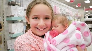 Video Shopping with Reborn Baby Doll Olivia for Newborn Baby Supplies Plus Shopping Haul MP3, 3GP, MP4, WEBM, AVI, FLV November 2017