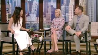 Jenna Dewan Tatum talks about her and Channing Tatum celebrating their 8th anniversary at a wilderness camp.