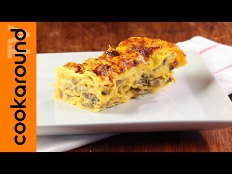 lasagne ai funghi - ricetta