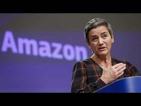 Η ΕΕ καταγγέλλει την Amazon για στρέβλωση του ανταγωνισμού…