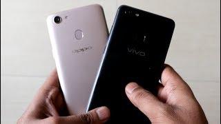 Video OPPO F5 vs Vivo V7+ (Camera, Selfie, Design and Specifications) MP3, 3GP, MP4, WEBM, AVI, FLV November 2017