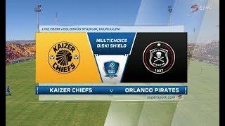Video 2018 MultiChoice Diski Shield - Kaizer Chiefs vs Orlando Pirates MP3, 3GP, MP4, WEBM, AVI, FLV April 2019