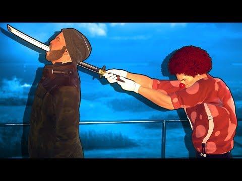 Samurai Hitman finds other Hitman wearing his thong in Hitman 2 😎👙