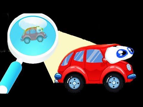 Машинка ВИЛЛИ [7] -2. Мультик игра для детей. Wheely 7. (видео)