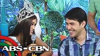 Video Bb. Pilipinas 2015 winners in pick-up lines battle MP3, 3GP, MP4, WEBM, AVI, FLV Agustus 2018