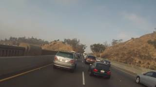 9. 2015 Genuine Hooligan vs L.A. Morning Traffic (110 freeway)