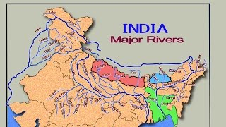 Map of India that covers all the important rivers of India Music - Creative Common Attribution license (https://creativecommons.org/licenses/by/4.0/) Artist ...