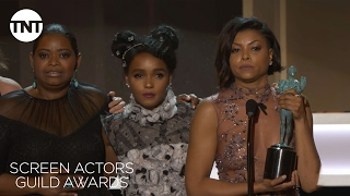 Nonton Hidden Figures Cast  Acceptance Speech   23rd Annual Sag Awards   Tnt Film Subtitle Indonesia Streaming Movie Download