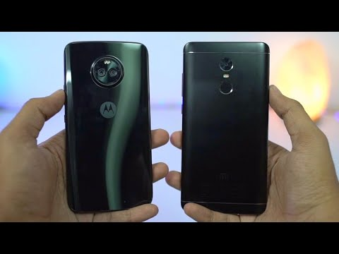 Moto X4 vs Redmi Note 4 (MIUI 9) Speed Test, Memory Management test and Benchmark Scores