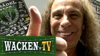 Ronnie James Dio - Interview at Wacken Open Air 2009