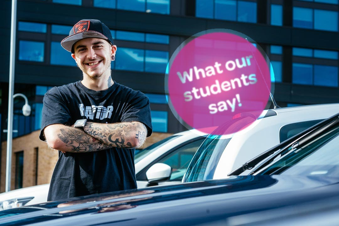 CAVC: What our students say - Automotive - Vehicle Refinishing