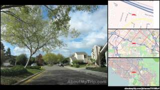 Culver Drive (Irvine, Rancho San Joaquin, California) to Cypress Tree Lane via University Park